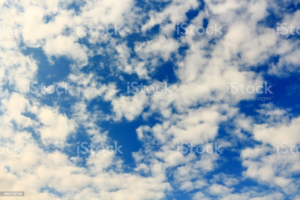 Beautiful atmosphere  cloud sky. royalty-free 스톡 사진