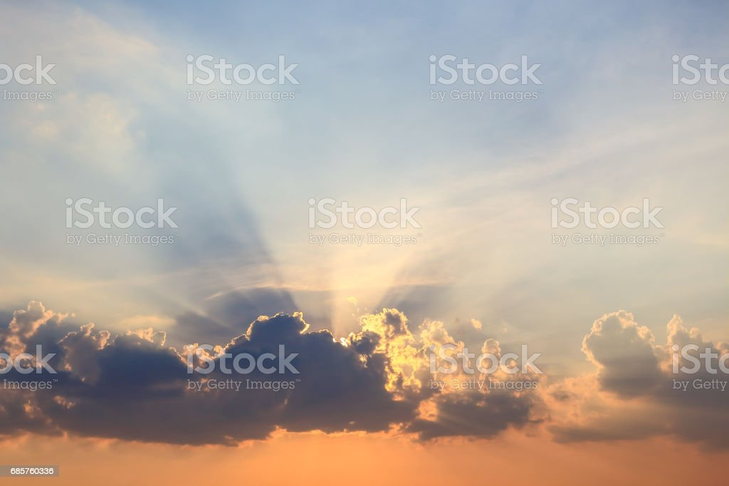 Beautiful atmosphere  cloud sky. foto stock royalty-free