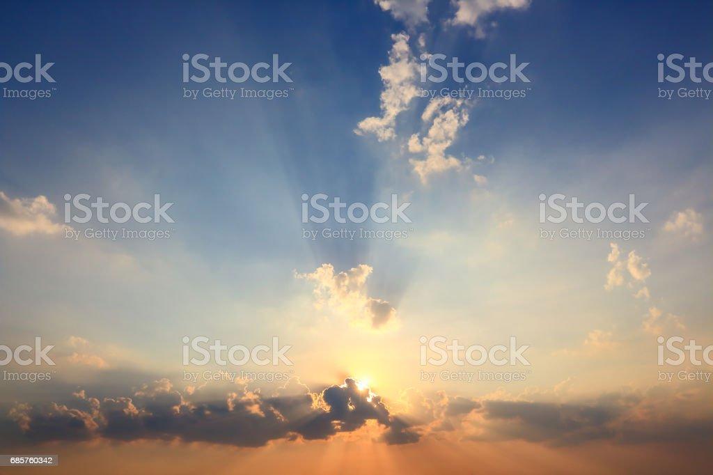Beautiful atmosphere  cloud sky. royaltyfri bildbanksbilder