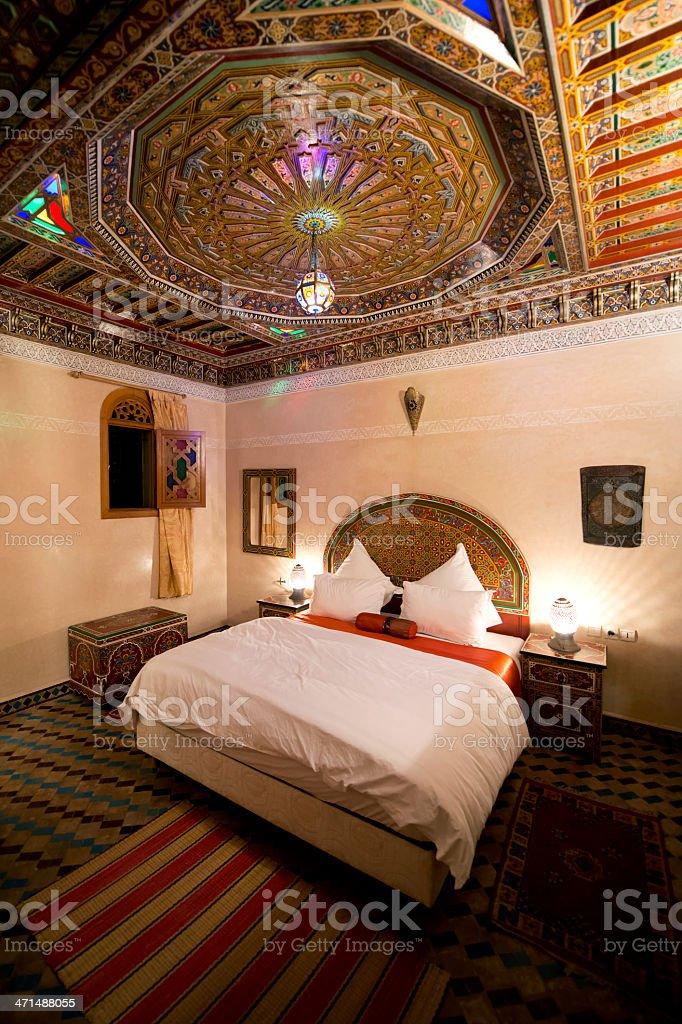 Schöne Arabische Schlafzimmer In Rabat Marokko Stock-Fotografie und ...