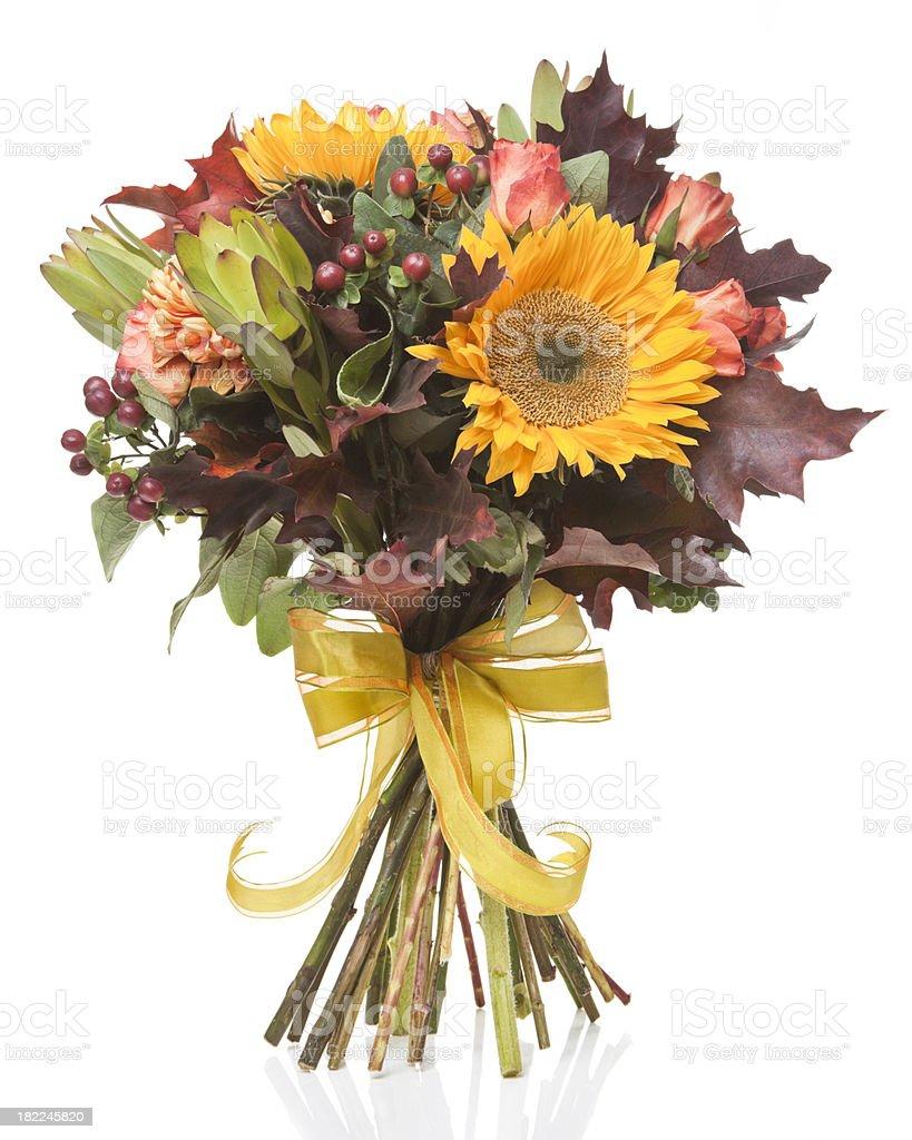 Beautiful Autumn Bouquet royalty-free stock photo