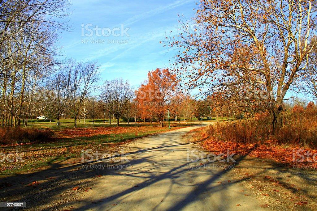 Beautiful Autumn Fall Season Scenery royalty-free stock photo
