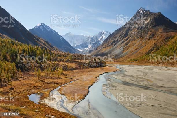 Vackert Höstlandskap Altajbergen Ryssland-foton och fler bilder på Altai Nature Reserve