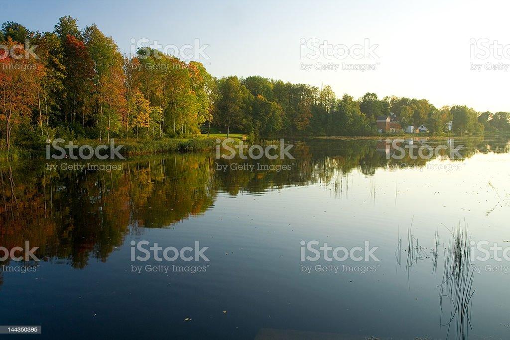 Beautiful autumn landscape royalty-free stock photo