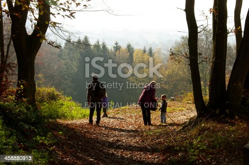 istock Beautiful autumn view at Limburg 458880913