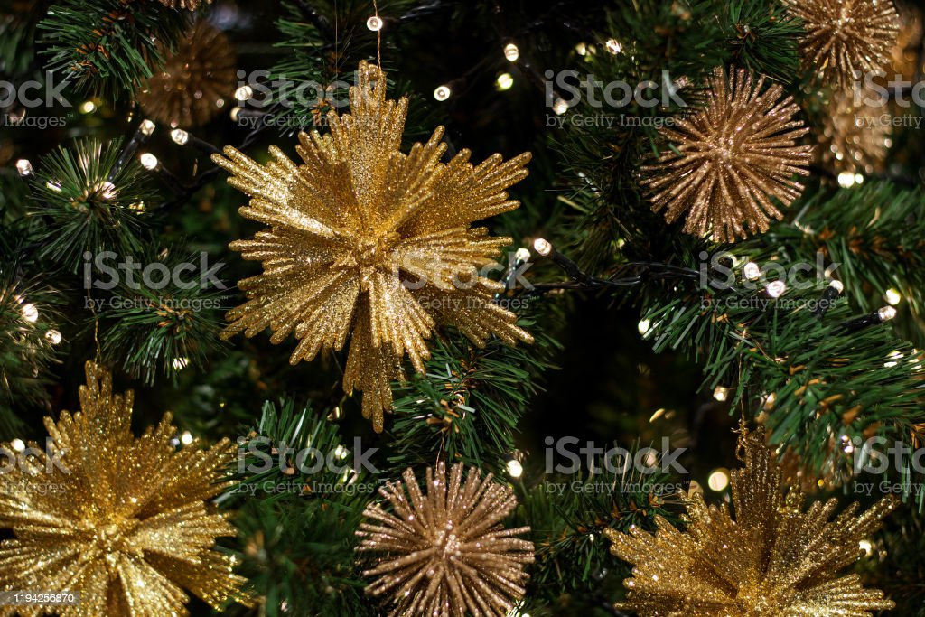 Beautiful Background Desktop Wallpaper With Christmas Tree And New Years Decorations Stock Photo Download Image Now Istock