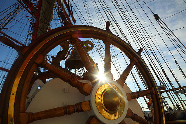 beautiful background for sea travel beautiful background for sea travel rigging stock pictures, royalty-free photos & images