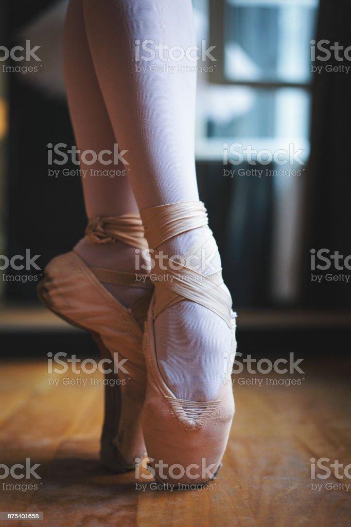 Linda balerina - foto de acervo