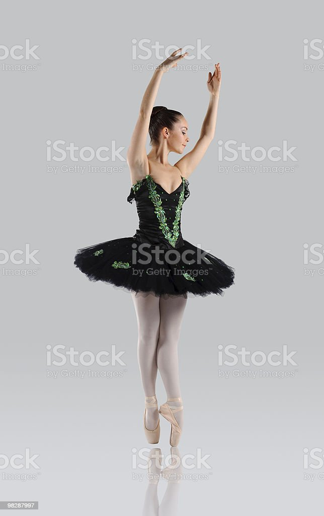 Beautiful ballet royalty-free stock photo