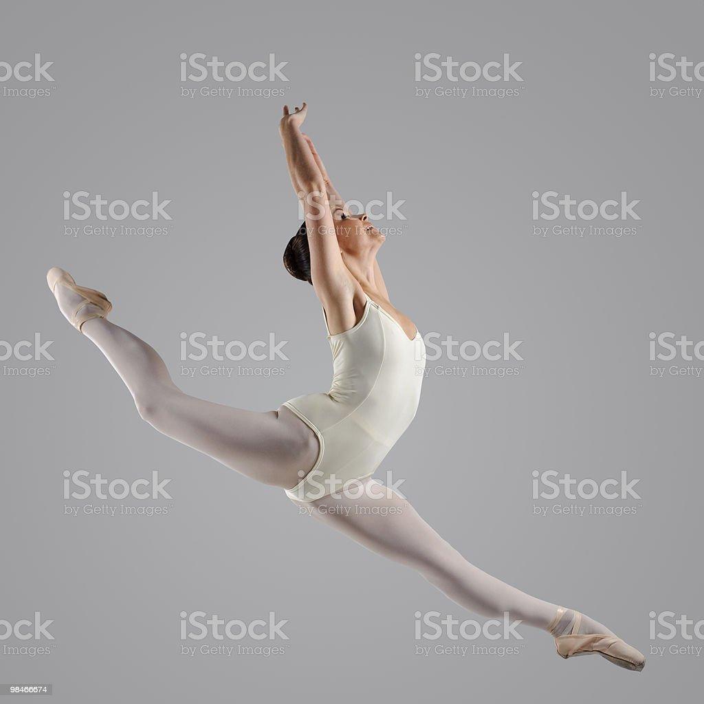 Bellissimo ballerina foto stock royalty-free