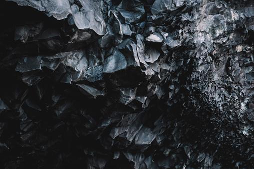 Beautiful basalt texture, Iceland