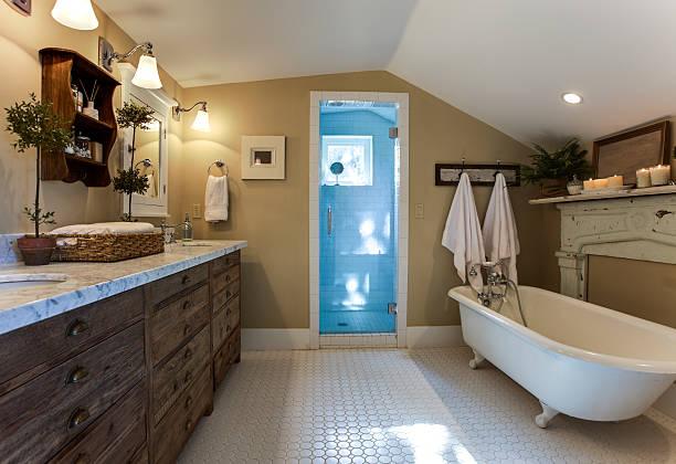 Splendido bagno - foto stock