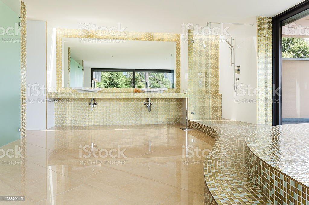 beautiful bathroom stock photo