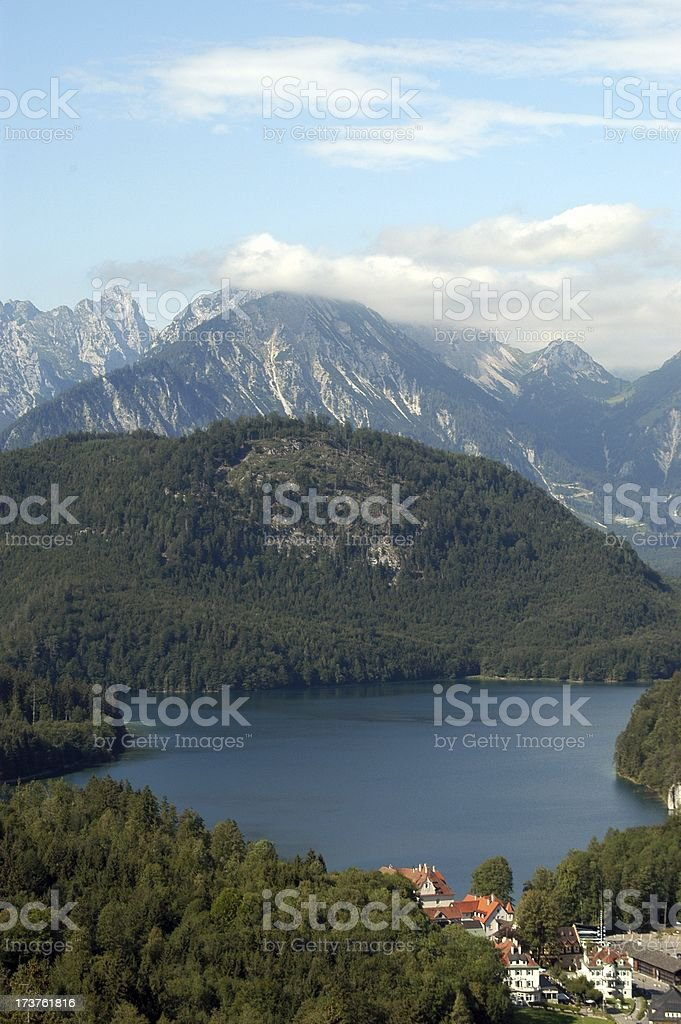 Beautiful Bavarian Alps 2 stock photo