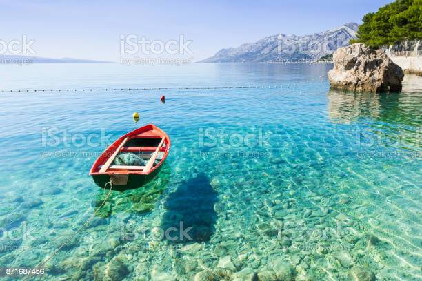 Photo of Beautiful bay in the Mediterranean sea