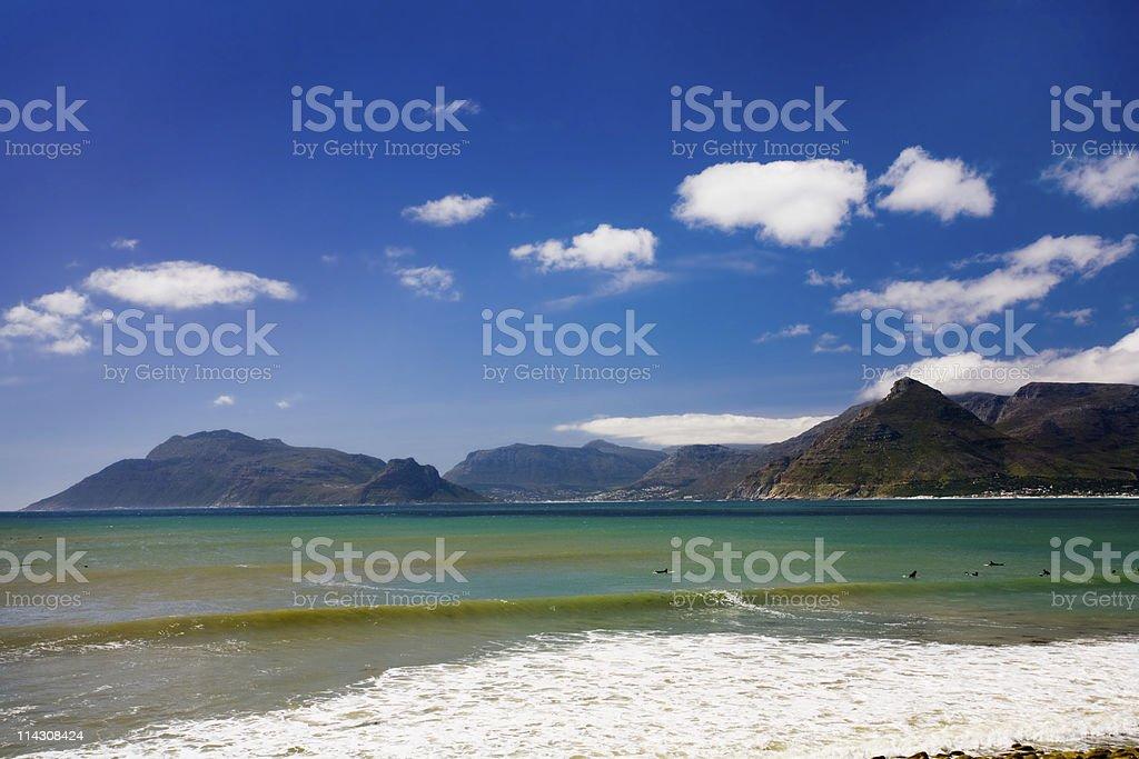 Beautiful bay #1 stock photo
