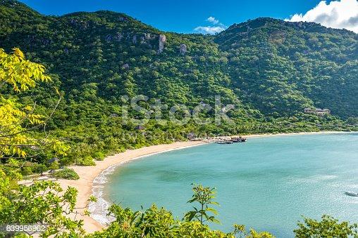 istock Beautiful beach at coast of Vietnam - Ninh van bay 639956962
