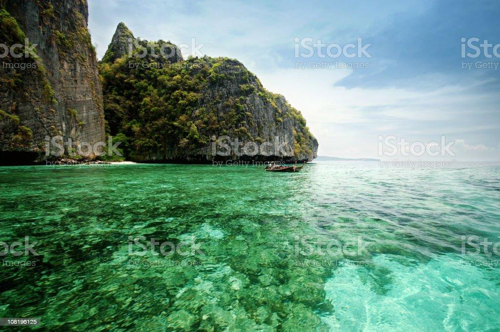 Beautiful beach in Thailand royalty-free stock photo