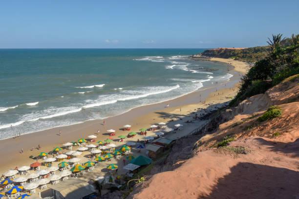 Schöner Strand von Praia do Amor bei Pipa auf Brasilien – Foto
