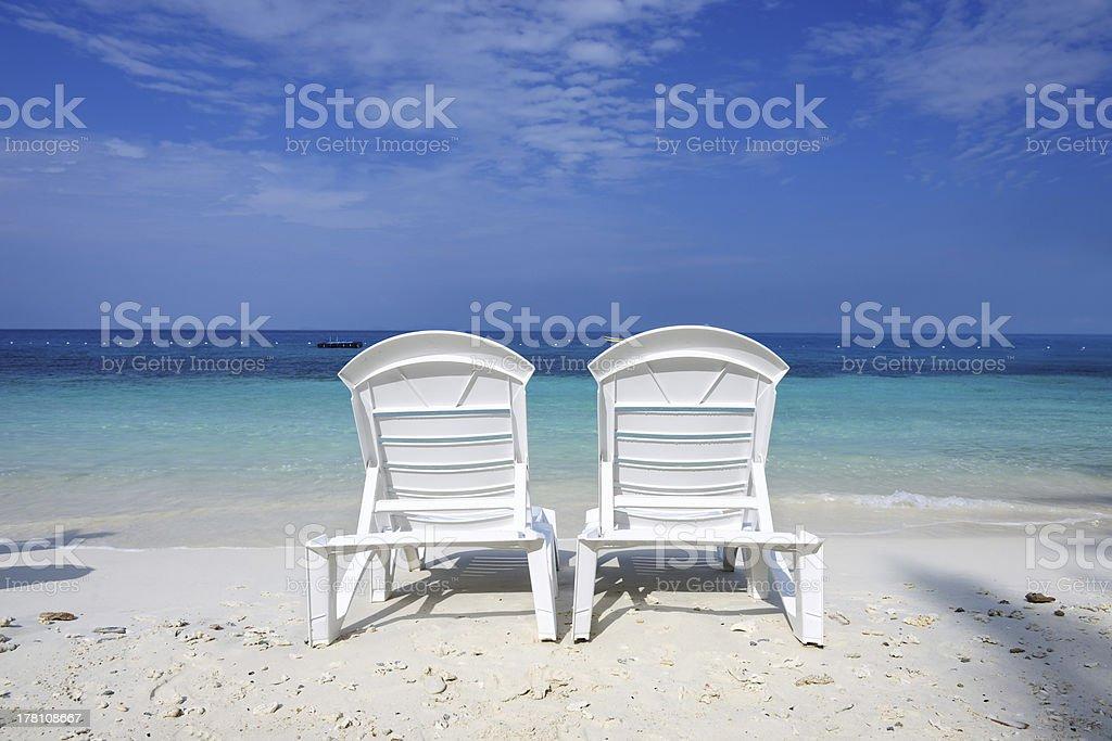 Beautiful beach royalty-free stock photo