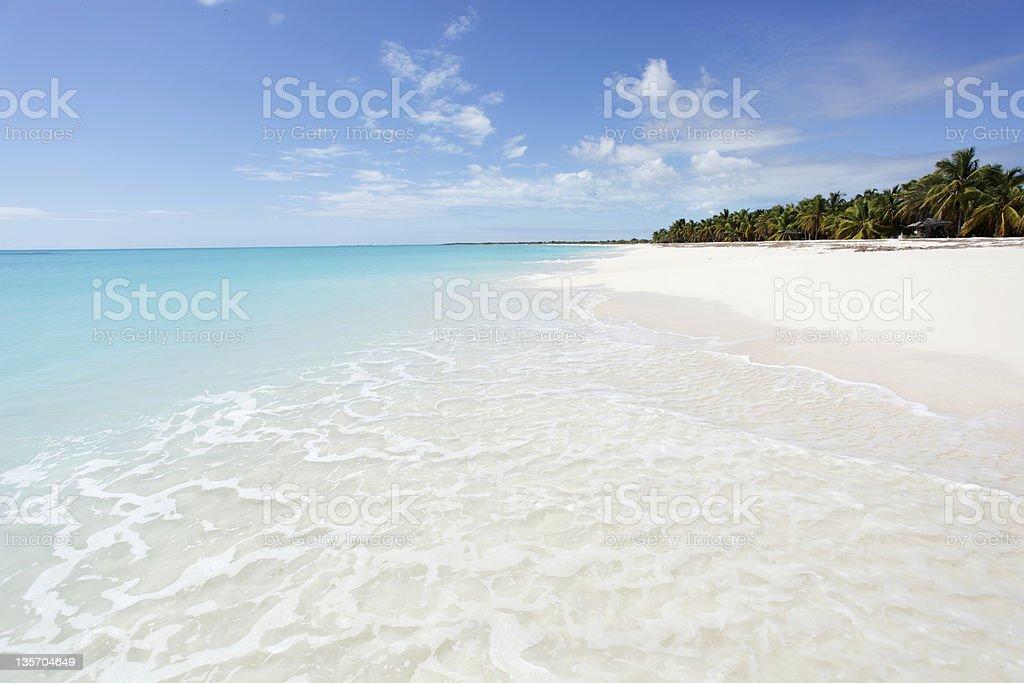 Strand-Szene in Antigua und Barbuda – Foto