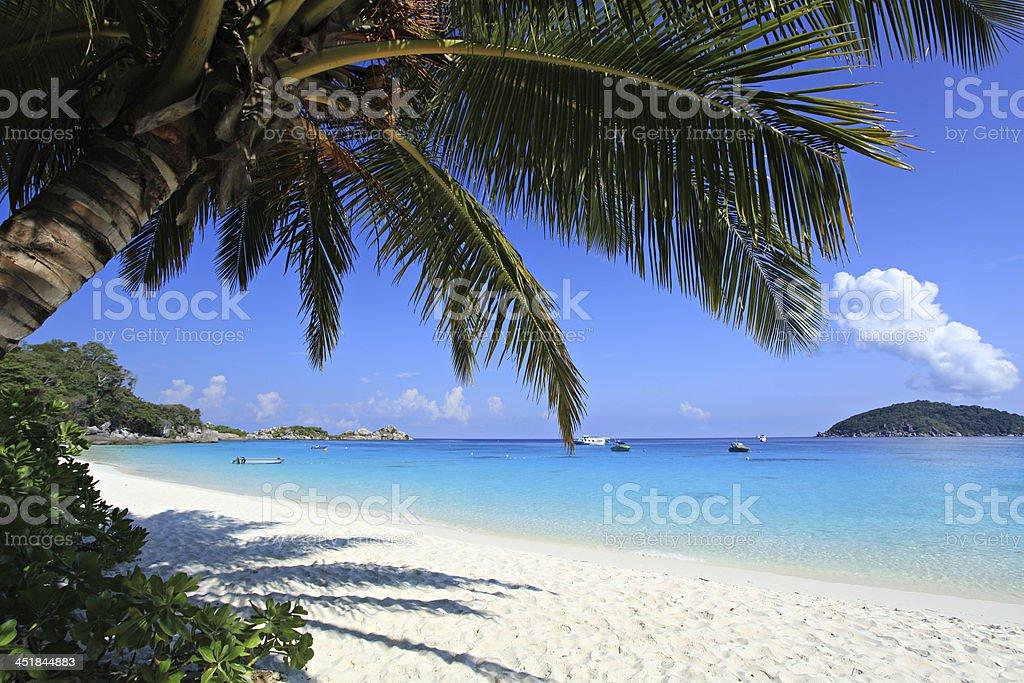Beautiful Beach Similan Islands.Thailand, stock photo