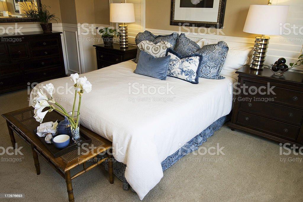Beautiful Bedroom royalty-free stock photo