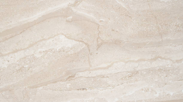 Beautiful beige marble. Natural marble with amazing abstract natural pattern. stock photo