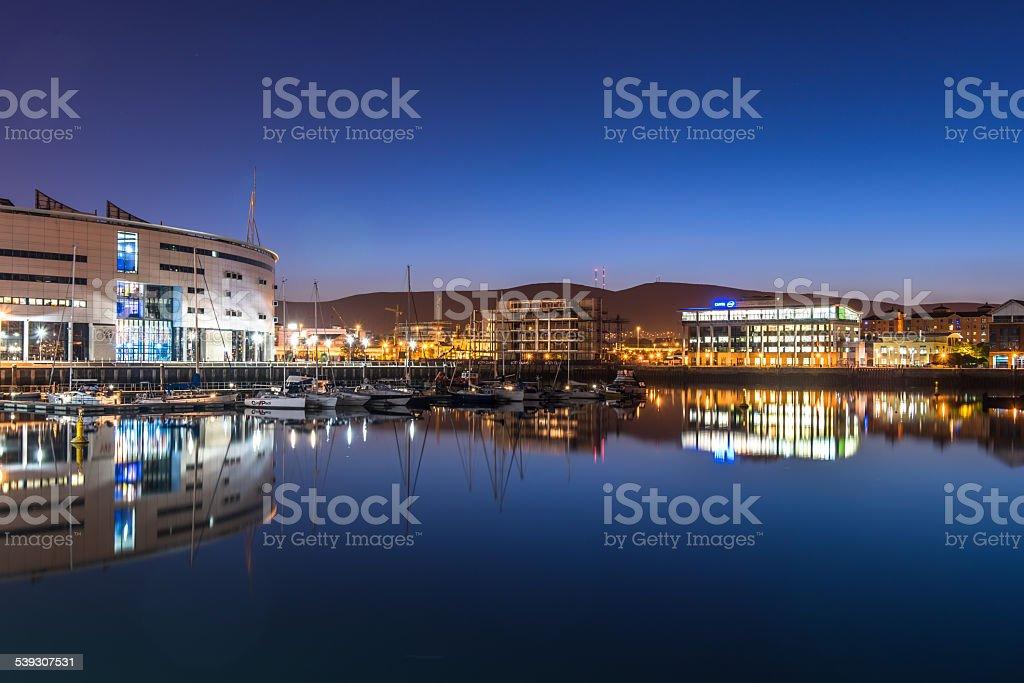 Beautiful Belfast city, Northern Ireland, UK stock photo