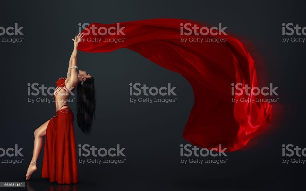 Beautiful belly dancer – Foto