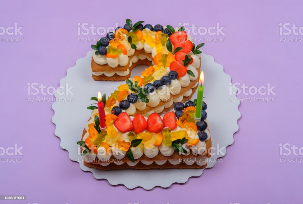 Pleasing Beautiful Birthday Cake In The Shape Of Two Figures Stock Photo Personalised Birthday Cards Cominlily Jamesorg