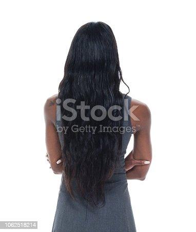 Beautiful black businesswoman