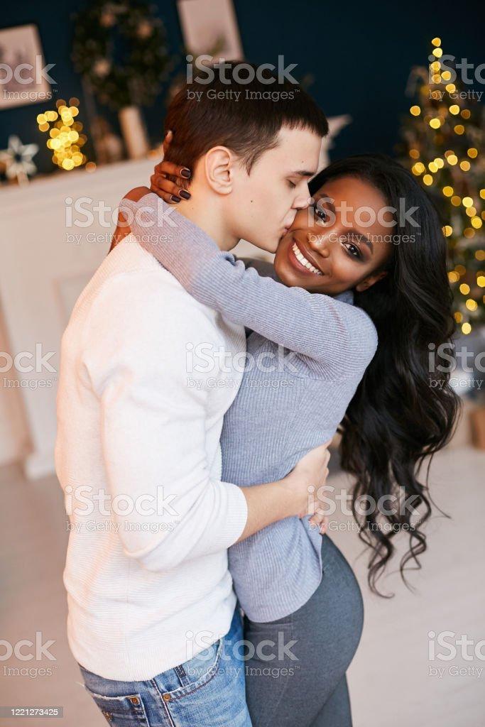Beautiful Black Girl White Guy