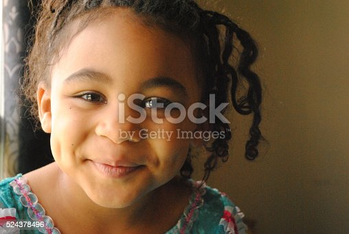 istock Beautiful Black Girl 524378496
