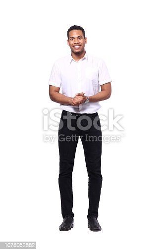 istock Beautiful black man 1078052882