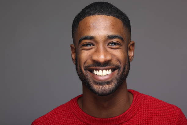 Beautiful black man Beautiful black man brightly lit stock pictures, royalty-free photos & images