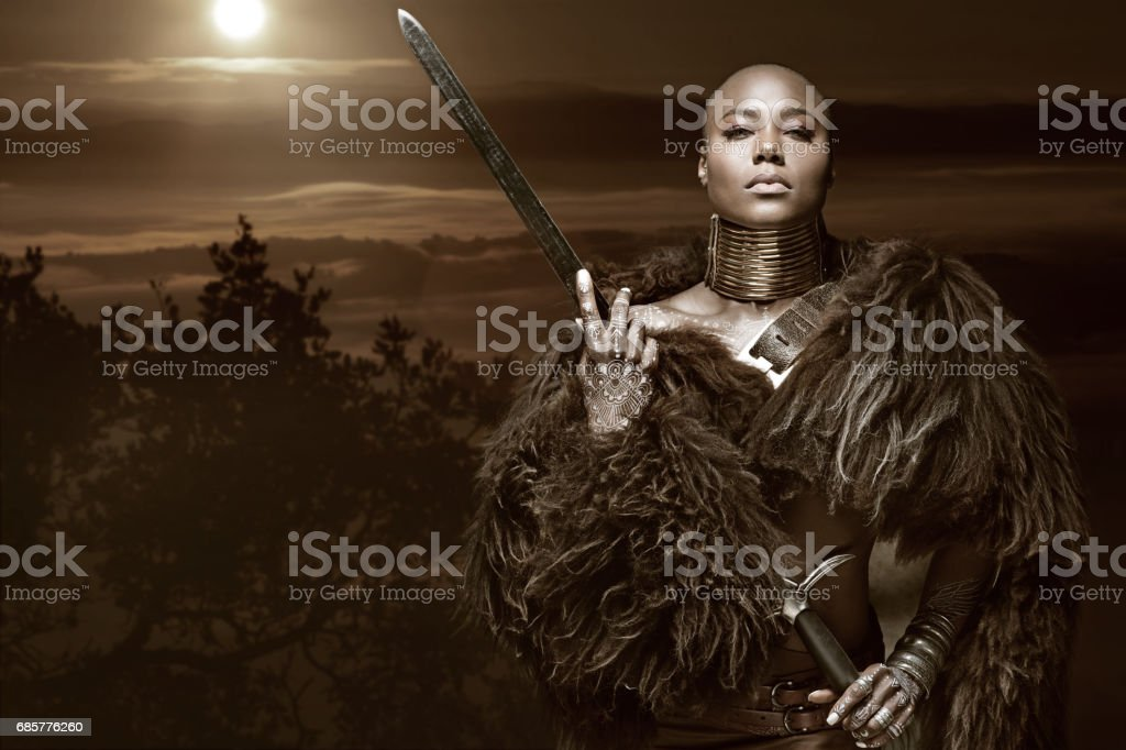 Image result for African woman warrior
