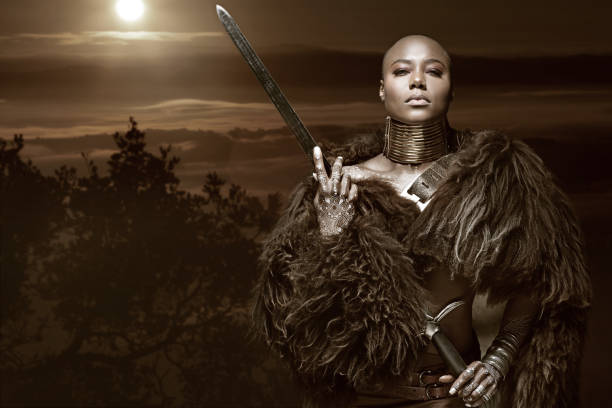 Top 60 African Warrior Stock Photos, Pictures, And Images -4884