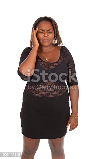 491747470 istock photo Beautiful black woman doing different expressions 505442115