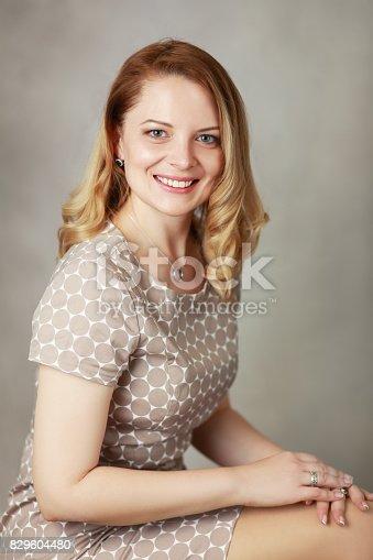 istock beautiful blond woman 829604480