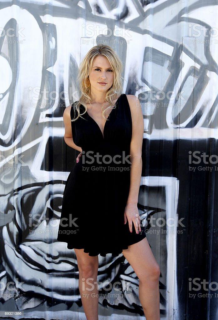 Beautiful Blond Young Woman royalty-free stock photo