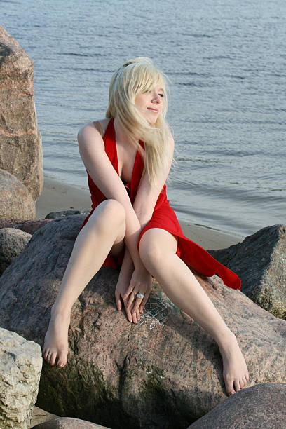 Wunderschöne blonde – Foto