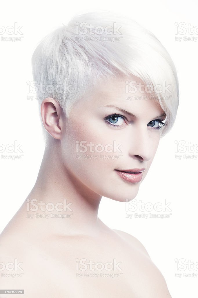 Beautiful Blonde VII stock photo