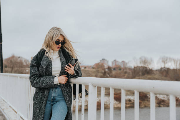 beautiful blonde woman - dtephoto stock photos and pictures