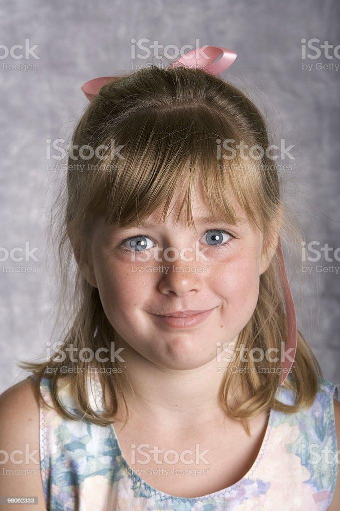 Beautiful Blue Eyed Girl royalty-free stock photo