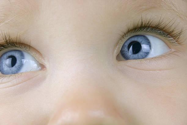 Schöne Blaue Augen – Foto