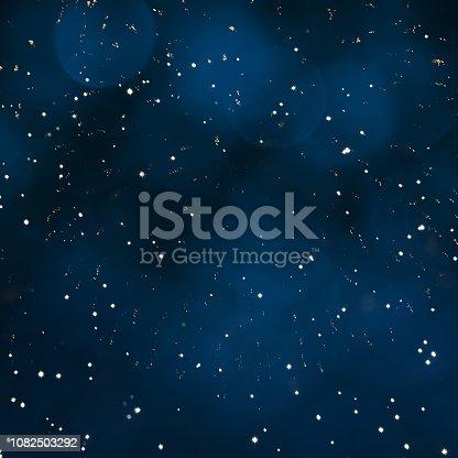 istock Beautiful Blue Holiday background 1082503292