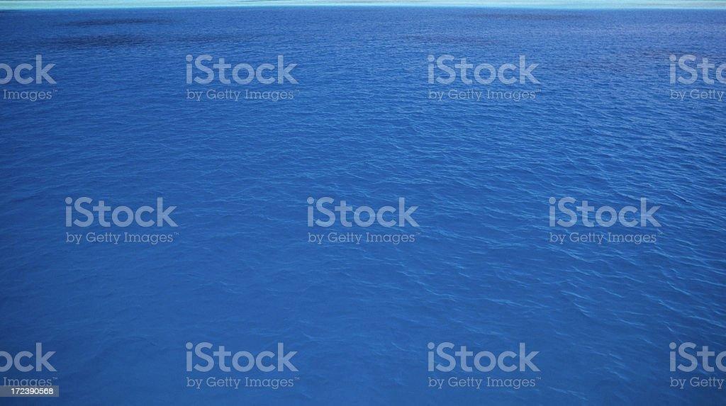 Beautiful Blue Sea royalty-free stock photo