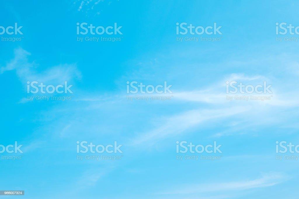 Schönen blauen Himmel Wolken für den Hintergrund. - Lizenzfrei Abstrakt Stock-Foto