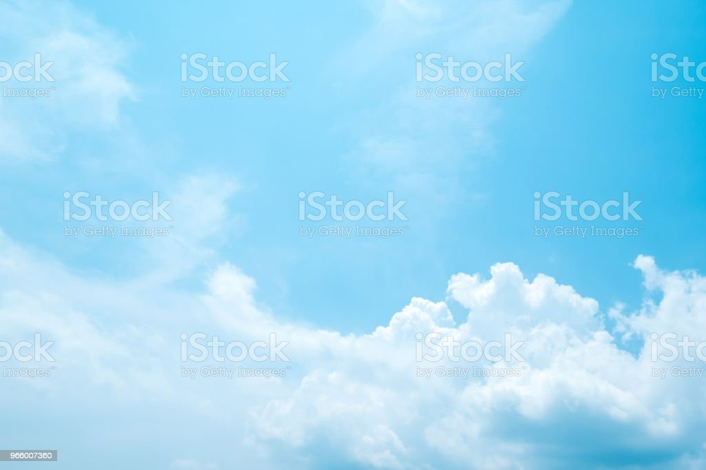 Beautiful blue sky clouds for background. - Royalty-free Abstract Stock Photo